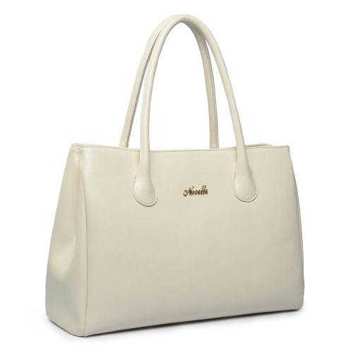 Женская кожаная сумка Higher 2 белая