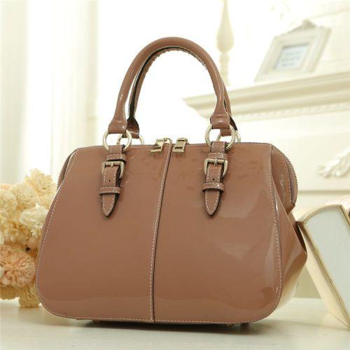 Женская кожаная сумка Yelly1 бежевая