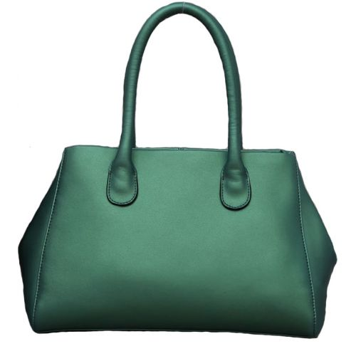 Женская кожаная сумка Tasty2зеленая