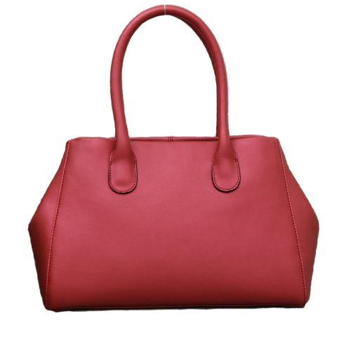 Женская кожаная сумка Tasty3 красная