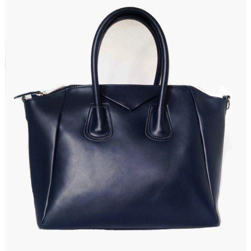 Женская кожаная сумка Central2 синяя
