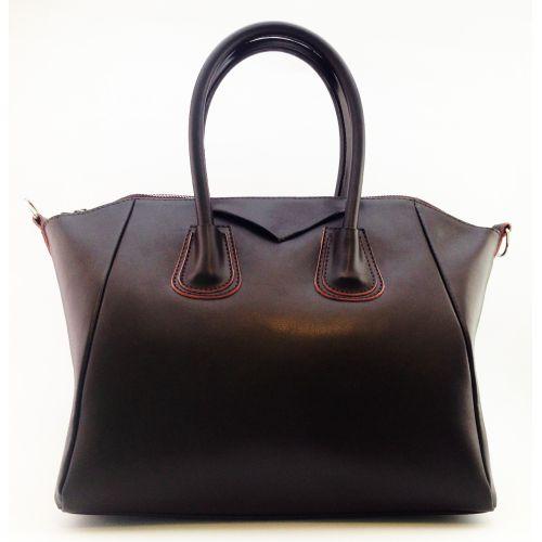 Женская кожаная сумка Central3 коричневая