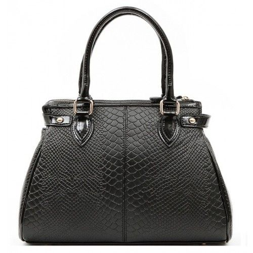Женская кожаная сумка Charm1 черная