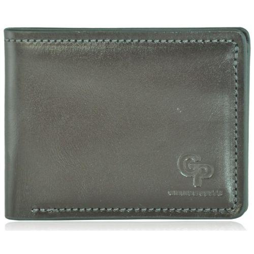 Кожаный кошелек Grande Pelle g1-6 коричневый