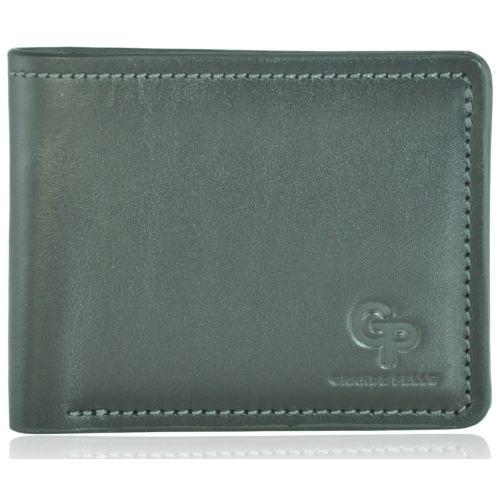 Кожаный кошелек Grande Pelle g1-6 черный