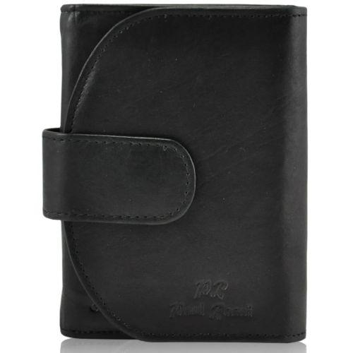 Женский кожаный кошелек PD-D01 черный
