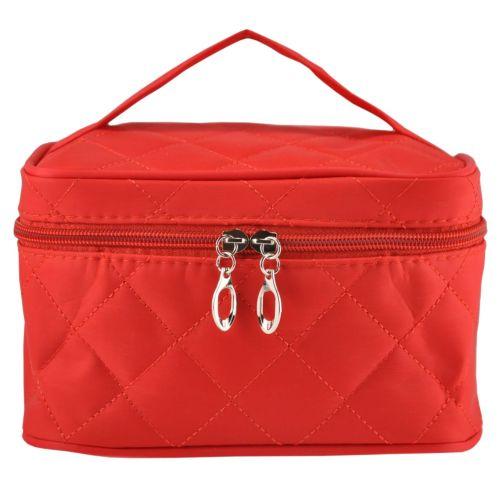 Косметичка чемоданчик красная