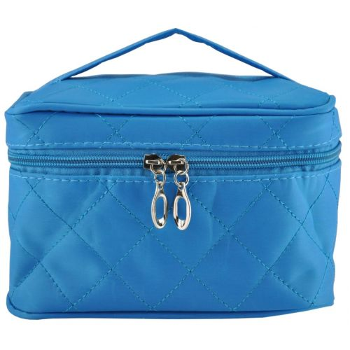Косметичка чемоданчик синяя