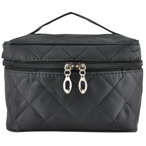 Косметичка чемоданчик черная