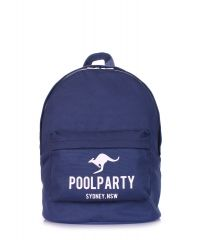 Рюкзак POOLPARTY backpack-kangaroo-darkblue