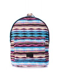 Рюкзак женский POOLPARTY backpack-rasta-blue