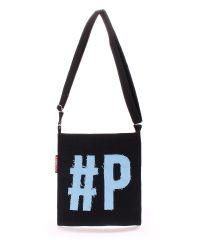 Коттоновая сумка POOLPARTY Detroit detroit-black-blue