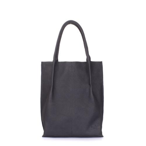 Женская кожаная сумка POOLPARTY Eleganza eleganza-black