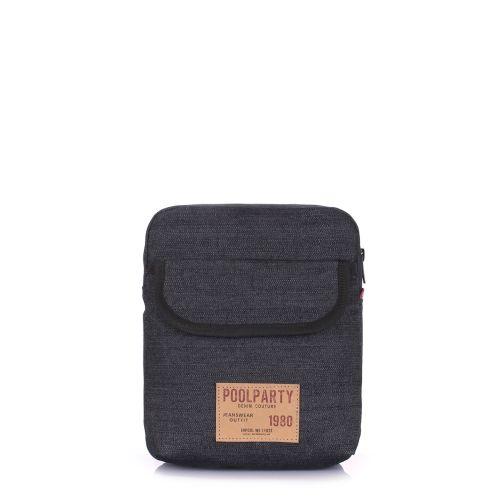 Мужская сумка на плечо POOLPARTY extreme-denim