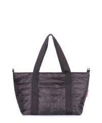 Стеганая сумка POOLPARTY Air air-black