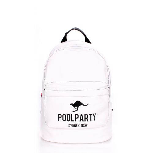 Рюкзак молодежный POOLPARTY backpack-kangaroo-white