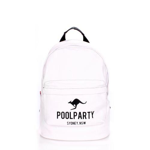 Рюкзак молодежный POOLPARTY backpack-kangaroo-white