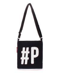 Коттоновая сумка POOLPARTY Detroit detroit-black-white
