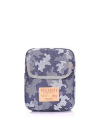 Мужская сумка на плечо POOLPARTY extreme-camouflage