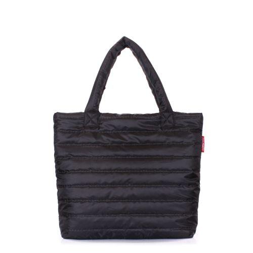 Дутая сумка POOLPARTY pp4-black-new