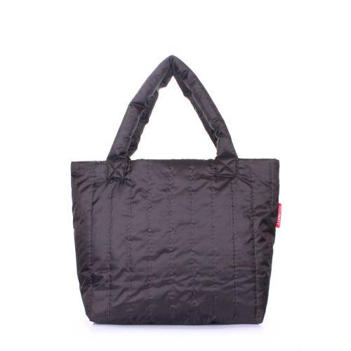 Дутая сумка POOLPARTY ns-8-black-new