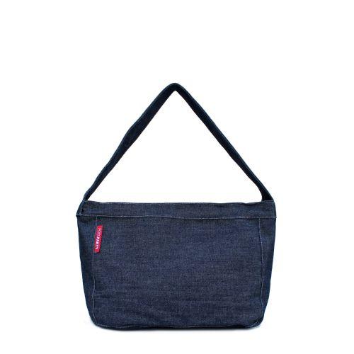 Коттоновая сумка POOLPARTY pool8-jeans