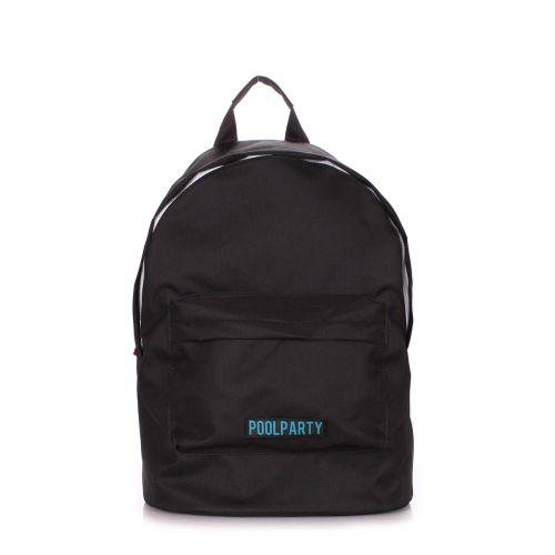 Рюкзак молодежный POOLPARTY eco-backpack-black