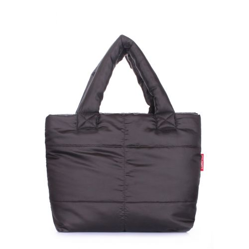 Дутая сумка POOLPARTY Fluffy fluffy-black
