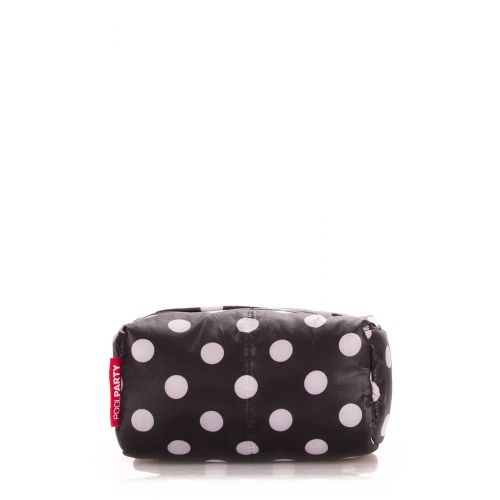 Косметичка POOLPARTY cosmetic-black-dots