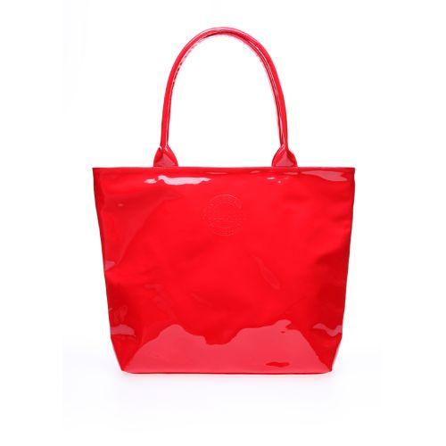 Лаковая сумка POOLPARTY pool7-laque-red