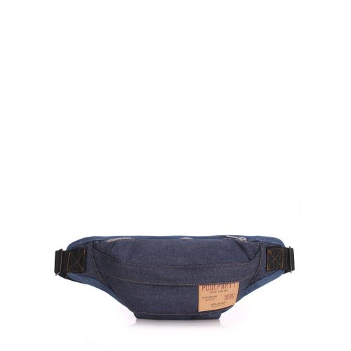 Сумка на пояс POOLPARTY Bumbag bumbag-jeans