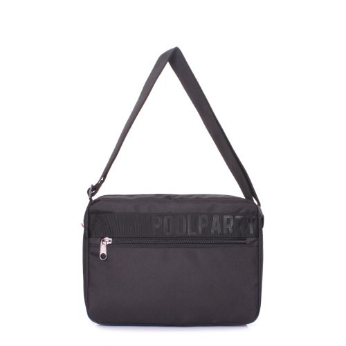 Городская сумка POOLPARTY Code code-black