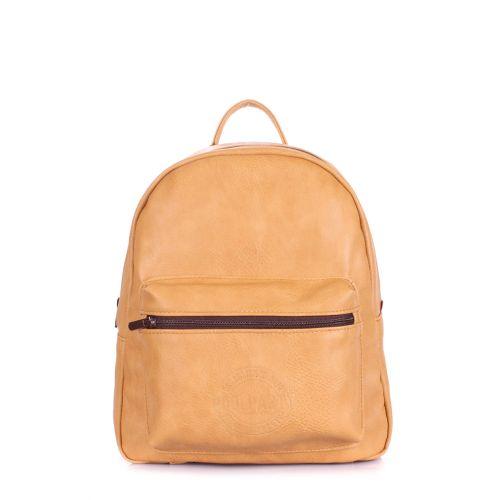 Рюкзак женский POOLPARTY Xs xs-bckpck-beige