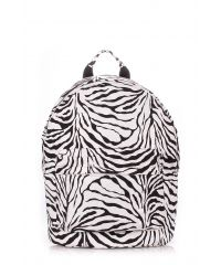 Рюкзак женский POOLPARTY backpack-pu-zebra