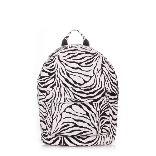 Рюкзак женский POOLPARTY backpack-pu-zebra