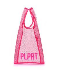 Сетчатая авоська POOLPARTY plprt-mesh-tote-pink