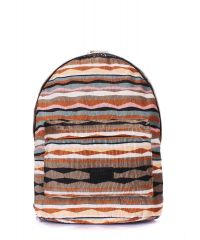 Рюкзак женский POOLPARTY backpack-rasta-brown