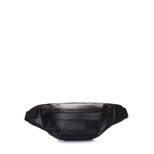 Сумка на пояс POOLPARTY Bumbag bumbag-pu-black
