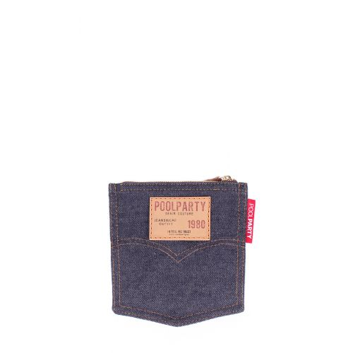 Джинсовая косметичка POOLPARTY Pocket cosmetic-pocket-jeans