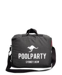 Молодежная сумка POOLPARTY pool-11-grey