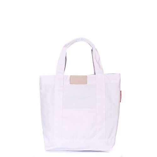 Коттоновая сумка POOLPARTY pool5-white
