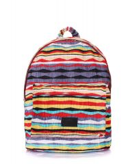 Рюкзак женский POOLPARTY backpack-rasta-red