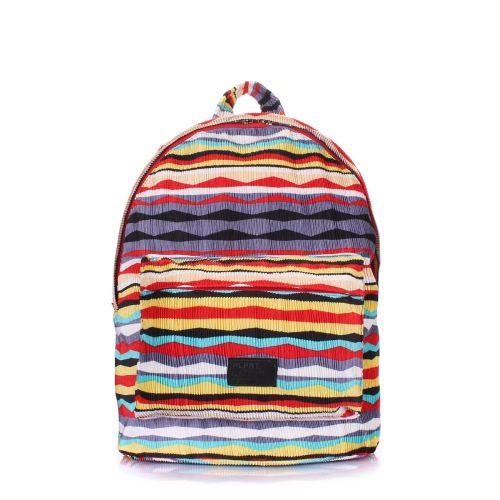 Рюкзак женский POOLPARTY backpack-rasta-red