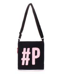 Коттоновая сумка POOLPARTY Detroit detroit-black-rose