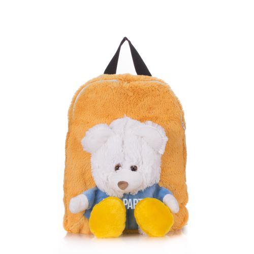Детский рюкзак POOLPARTY с медведем kiddy-backpack