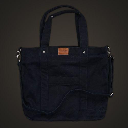 Коттоновая сумка POOLPARTY pool6-black
