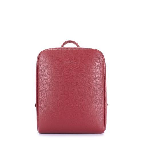 Рюкзак женский кожаный POOLPARTY cult-leather-marsala