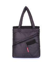 Стеганая сумка POOLPARTY mitten-black