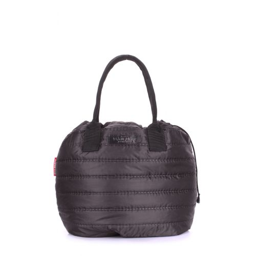 Стеганая сумка POOLPARTY muffin-black черная