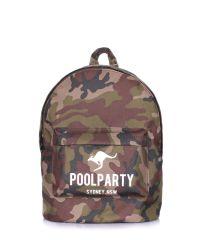 Камуфляжный рюкзак POOLPARTY backpack-camo